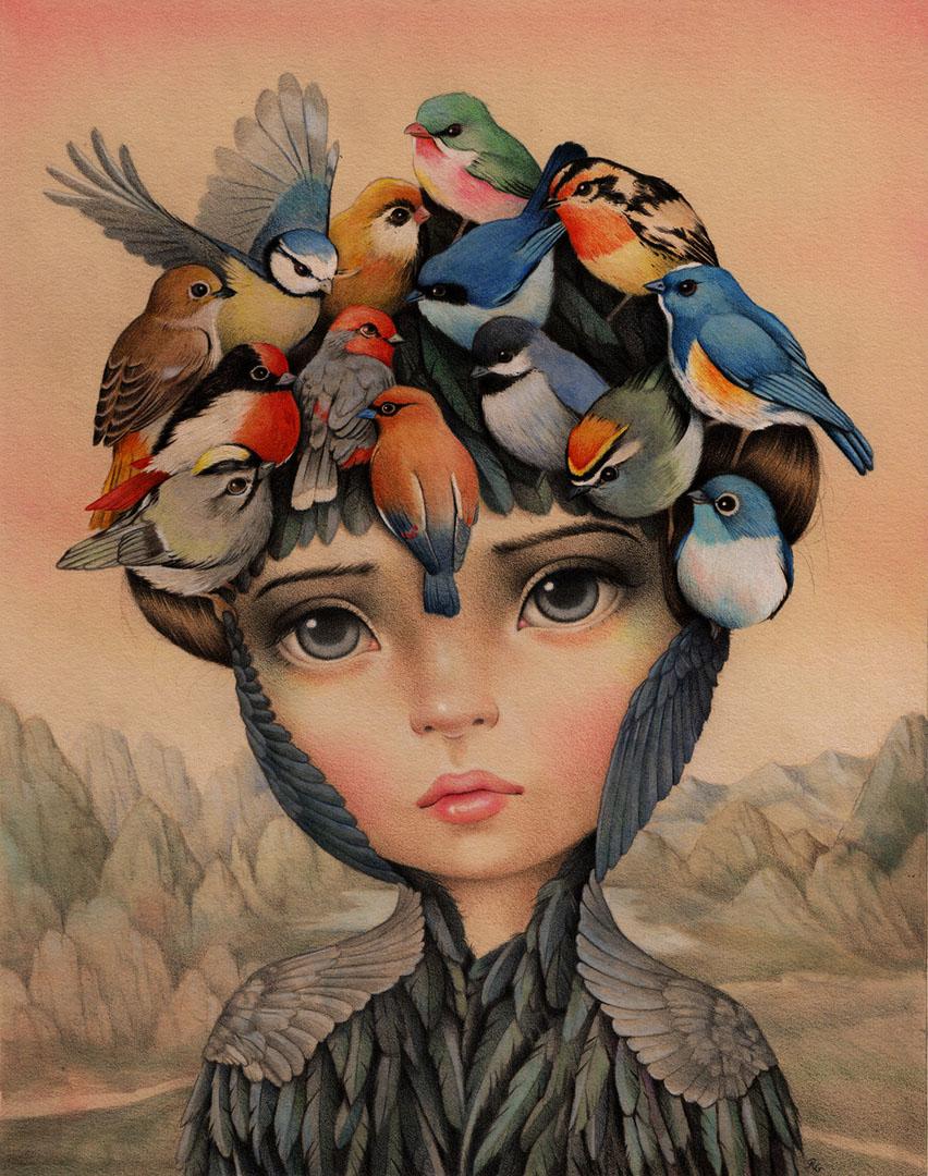 The Dreame. Pajaros en la Cabeza. Raul Guerra 2018 – Haven Gallery